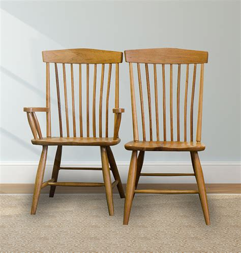 Shaker Furniture Of Maine by Shaker Furniture Of Maine 187 Delaware Side And Arm Chairs
