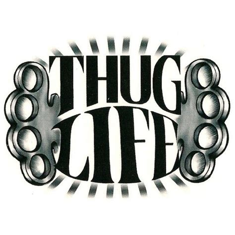 thug tattoo designs 15 thug designs