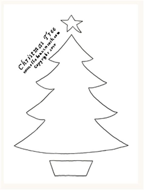 christmas tree stencil 20 free stencil gallery