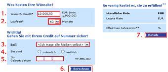 easy bank kreditrechner kreditrechner easycredit