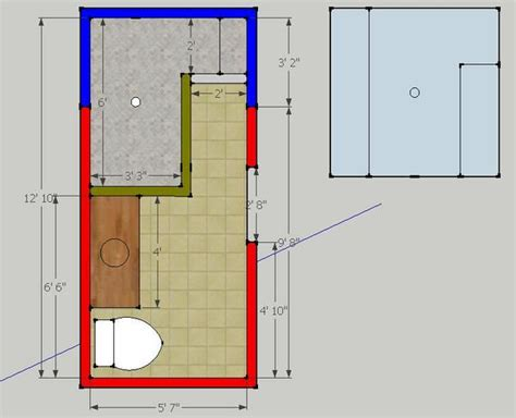 Walk In Shower Sizes by Dimensions For Doorless Walk In Shower Studio Design