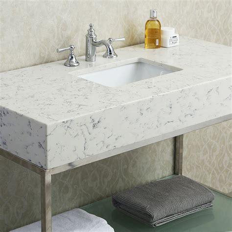 bathroom vanity countertops sink ariel by seacliff brightwater 48 quot single sink bathroom