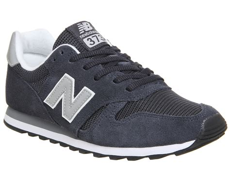 New Balance 373 Navy Putih new balance 373 navy silver unisex sports