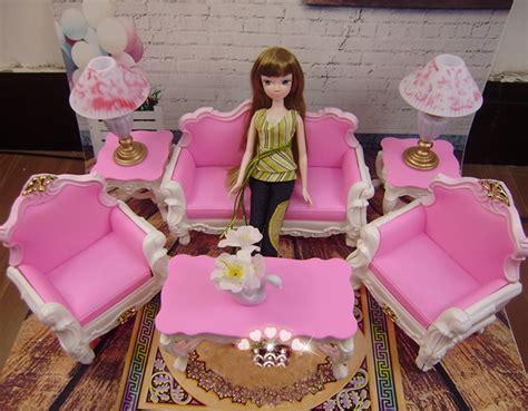 barbie living room set doll furniture christmas gift living room set accessories