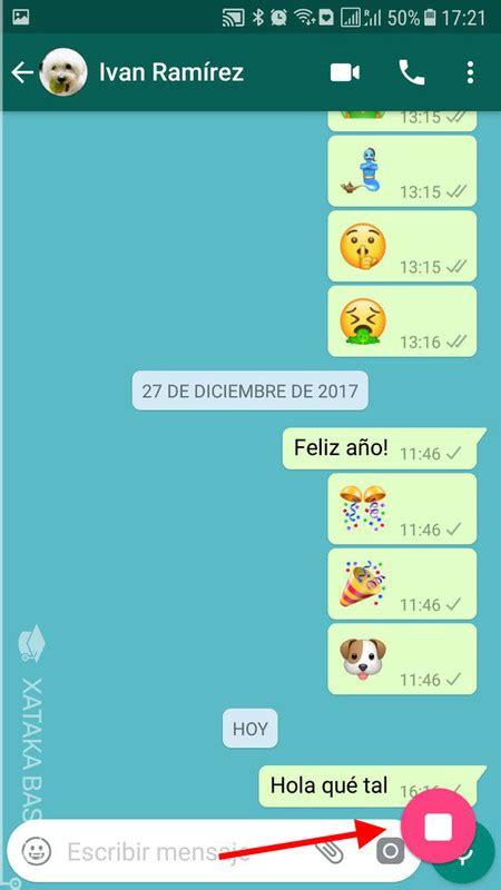 whatsapp basic tutorial c 243 mo hacer una captura de pantalla de una conversaci 243 n