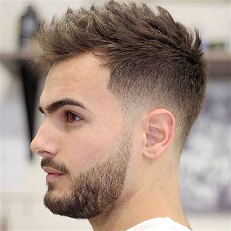 haircuts of 2017 male short hairstyles for men short textured hair fade