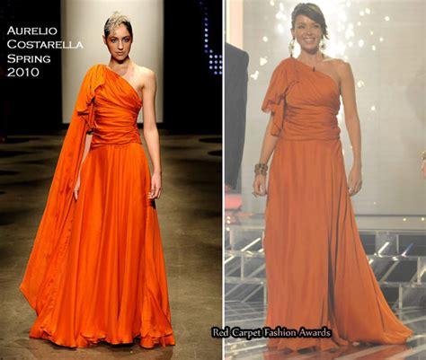 Catwalk To Carpet Danni Minogue by Aurelio Costarella Carpet Fashion Awards