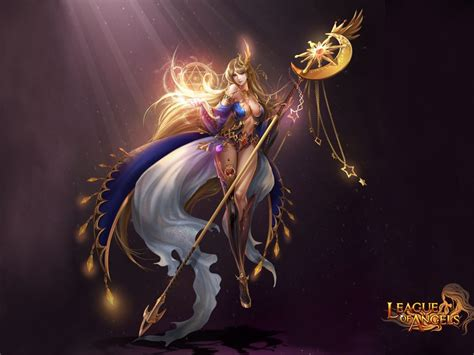 league  angels varda elegant girl goddess   stars