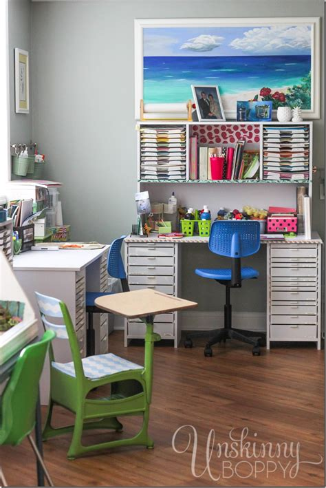 The Most Amazing Scrapbooking Room You Ever Did See Diy Student Desk