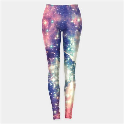universe pattern leggings painting the universe awsome space art design leggings