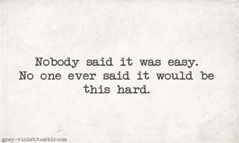 coldplay nobody said it was easy lyrics love