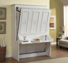 Murphy Bed With Gabriella Murphy Bed With Desk White Mdh Modern