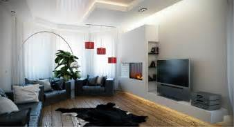 gallery for gt modern living room black and red