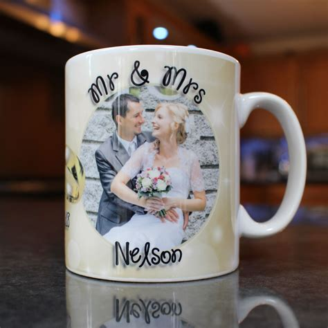 Wedding Congratulation Gifts by Personalised Wedding Congratulations Photo Mug Gift N11