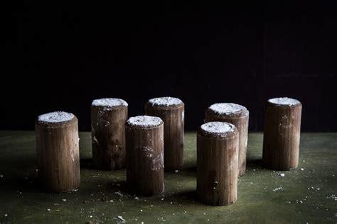 indonesian putu bambu steamed rice cake  bamboo