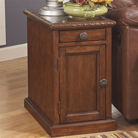 davis chairside table with power davis chairside table with usb living room occassional