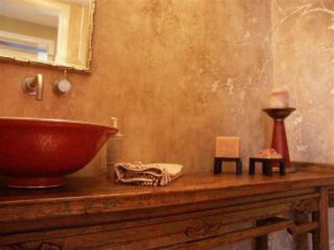 chosing powder room finishes bathroom wall unique custom faux finish traditional