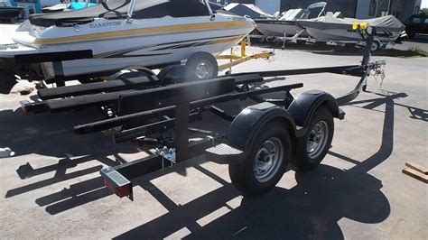 yacht club boat trailer parts new 2018 yacht club 18 20 5 tandem axle boat trailer