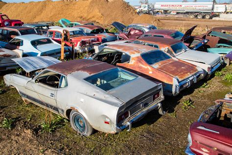 Mustang Auto Yard by This Colorado Parts Yard Has Been Collecting Classic Cars