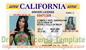 california drivers license template drivers license drivers license drivers license