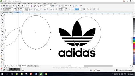 tutorial corel draw x7 membuat logo pdf tutorial corel draw x7 coreldraw x7 tutorials for