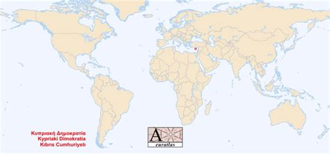 where is cyprus on the world map world atlas the sovereign states of the world cyprus