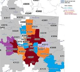 Columbus Oh Zip Code Map by 530 Area Code Quotes