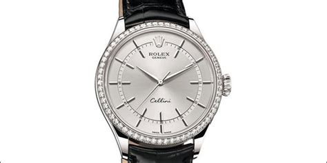 Rolex Cellini Silver White Leather rolex buying guide jaztime