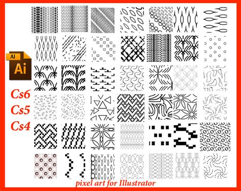 pixel pattern illustrator pixelart for illustrator by roula33 on deviantart