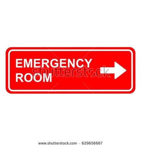 emergency room signage emergency room stock images royalty free images vectors