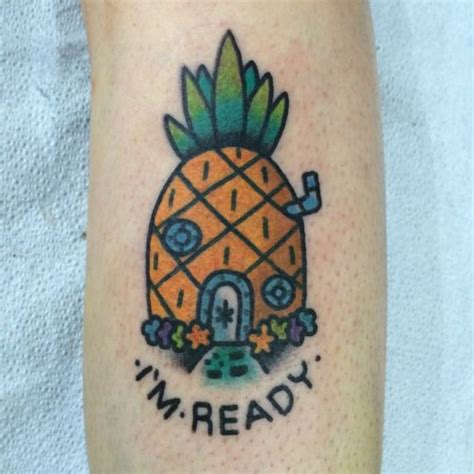 spongebob tattoo designs franz stefanik tattoos and trends
