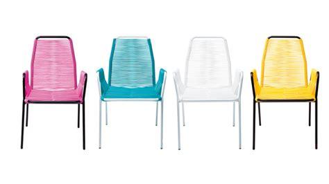 chaise fil plastique mobiliers de jardin le du design ext 233 rieur
