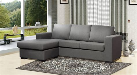 Grey Linen Sectional Sofa by Colton Modern Grey Linen Fabric Sectional