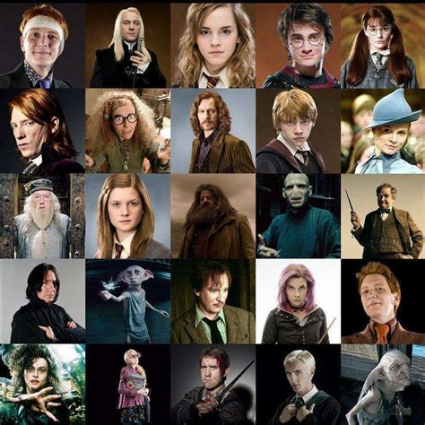 Best Harry Potter Characters List Of Favorite Characters | the top harry potter characters