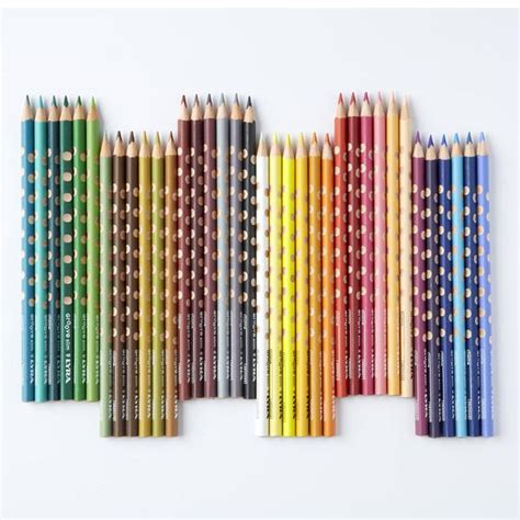 Lyra Ferby Lacquered Color Pencil 18 Colors 3721180 conscious craft lyra coloured pencils ferbys