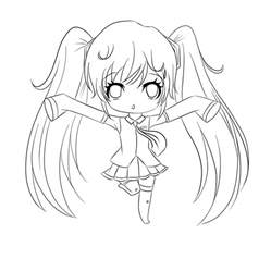 coloring pages anime coloring pages free printable