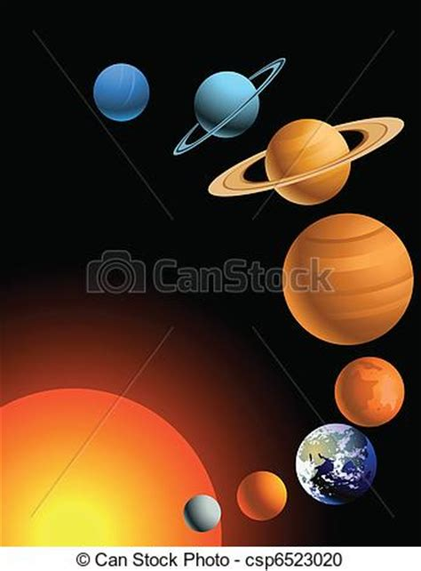 vector clipart of solar system csp6523020 search clip