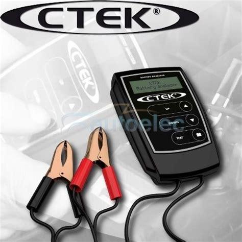 Ctek Analyzer ctek battery analyser 12 volt 12v lead acid cycle agm
