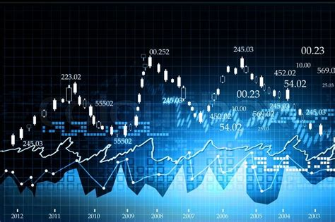 chart wallpaper stock market chart on abstract background stock photo
