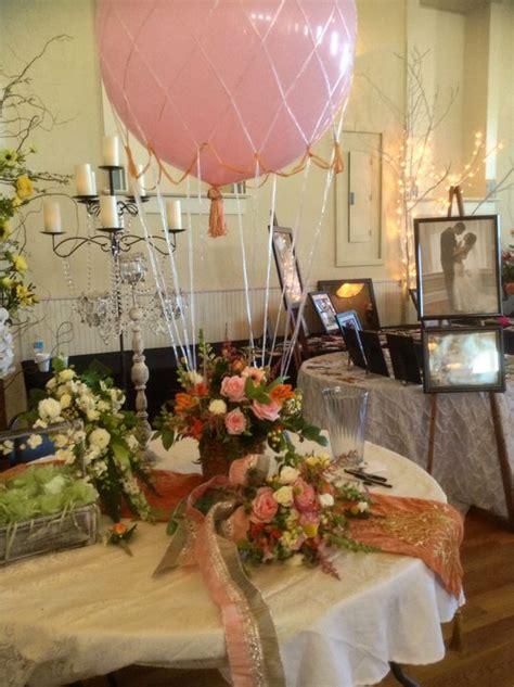 air balloon centerpiece wedding table settings balloon centerpieces balloon
