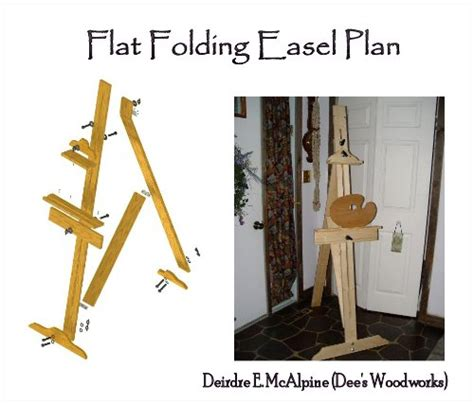 Detail Woodworking Project Easel Radha Plans Idea