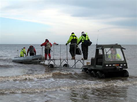 crew hire safety boat services near shore and inter tidal
