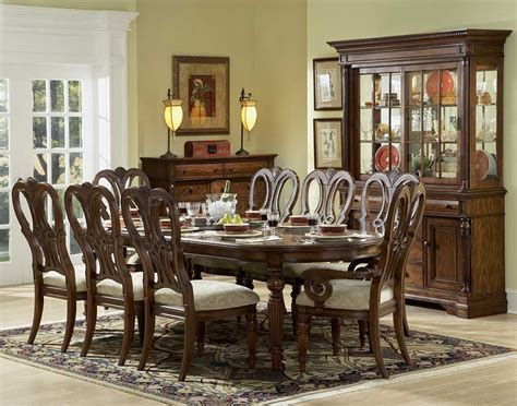 Furniture Dining Room Tables Mahogany Dining Room Table And Chairs Marceladick