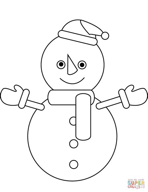 cute snowman coloring pages 83 free printable frosty snowman coloring pages