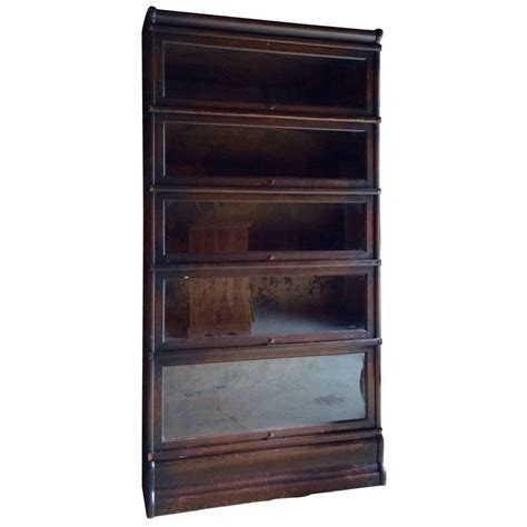 gunn sectional bookcase original globe wernicke oak bookcase stacking gunn five