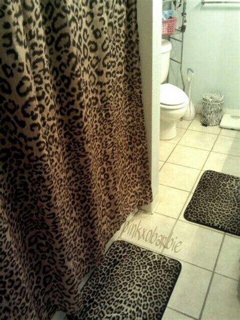 cheetah bathroom my future bathroom minus the zebra trash can my wishlist