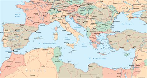 europa y africa mapa europa