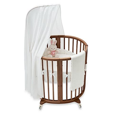 Stokke Sleepi Mini Crib Stokke 174 Sleepi Mini Classic White Crib Bedding Set And Accessories Buybuy Baby