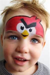 angry birds face painting auckland paintedmonkeys nz