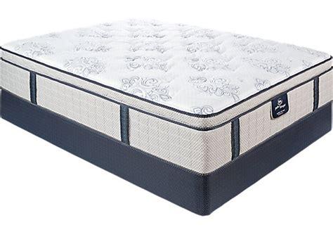 Serta Sleeper Dimensions by Serta Sleeper Secluded Oaks Mattress Set